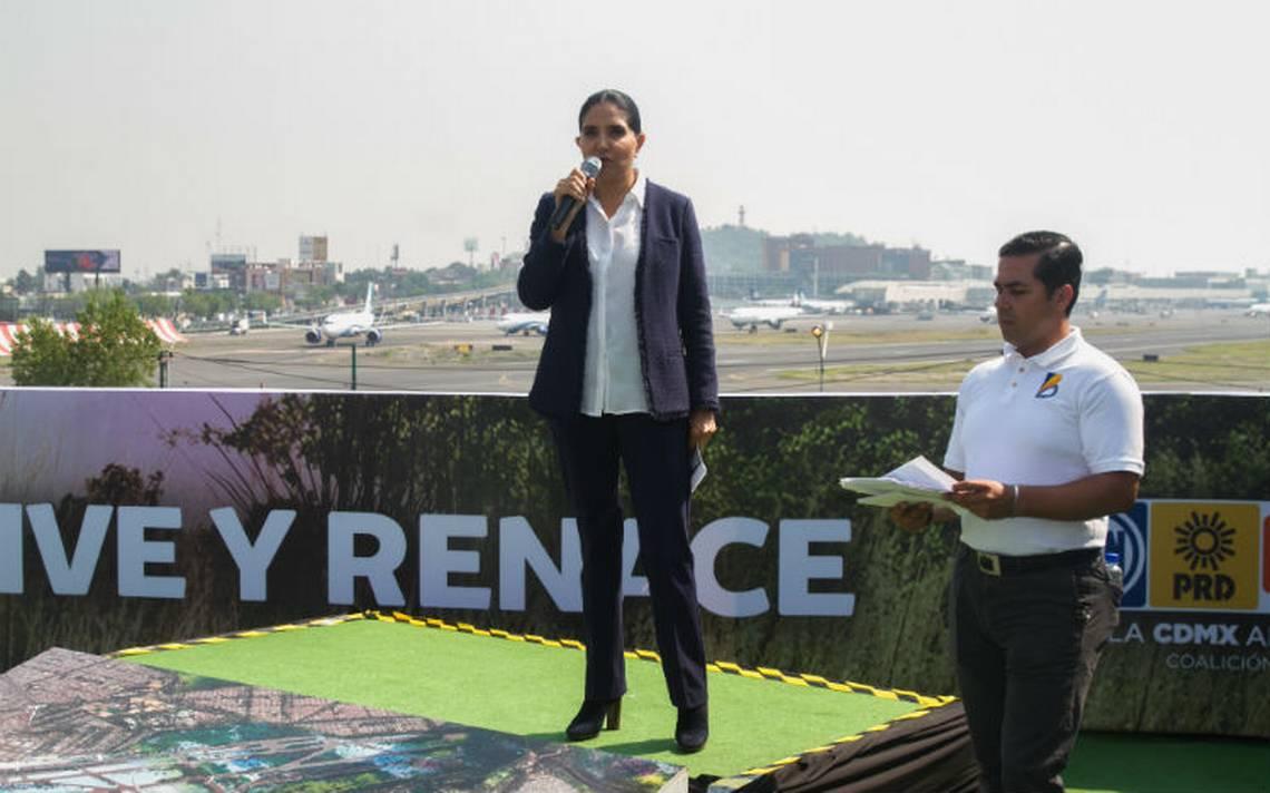 Barrales propone construir una universidad en terrenos del AICM