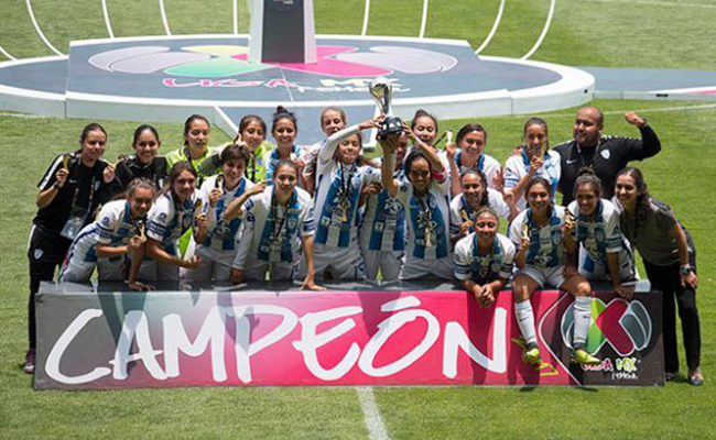 Primer partido femenil profesional de la Liga MX