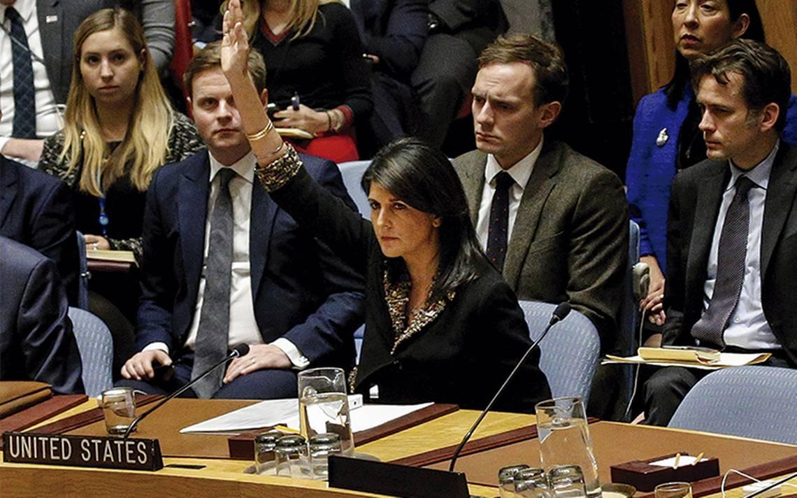 EU se aísla en la Naciones Unidas por Jerusalén