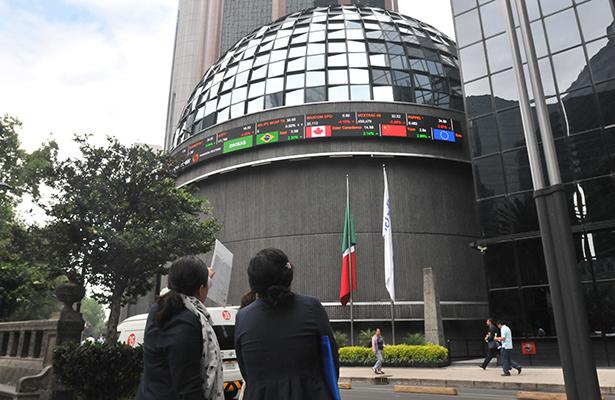 La Bolsa Mexicana de Valores cierra con una baja de 0.41 por ciento