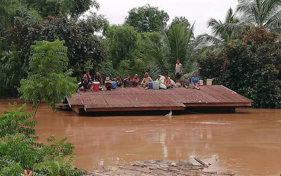 Se derrumba presa en Laos; hay varios muertos y cientos de desaparecidos