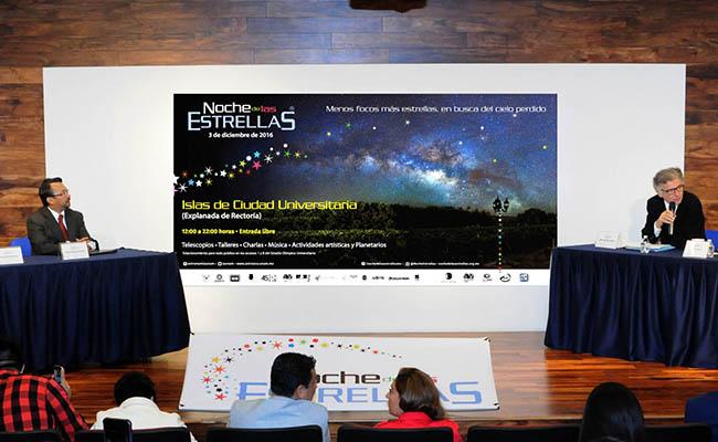 """""""En busca del cielo perdido"""": UNAM está gala por la Noche de Estrellas"""