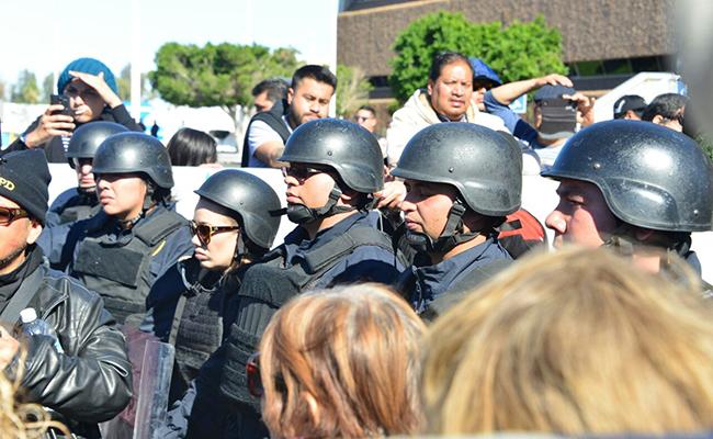 Amenazan de muerte a policías de Tijuana