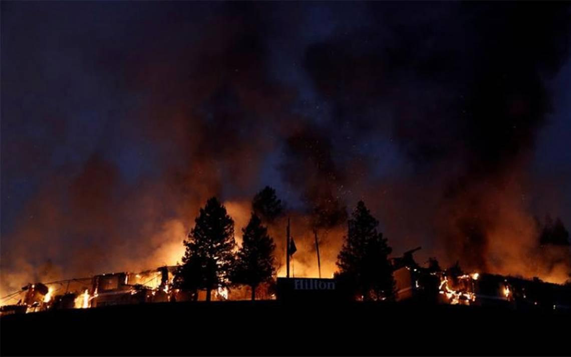 Incendio deja un muerto y 11 mil 500 hectáreas quemadas en California