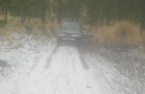 Alertan en Zacatecas sobre probabilidad de nevadas