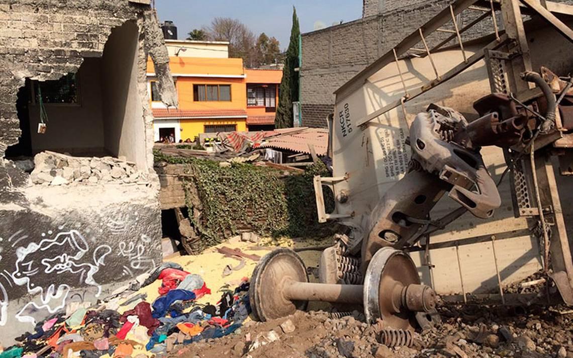 ¿Qué causó el accidente de tren en Ecatepec? el gobierno federal ya lo indaga