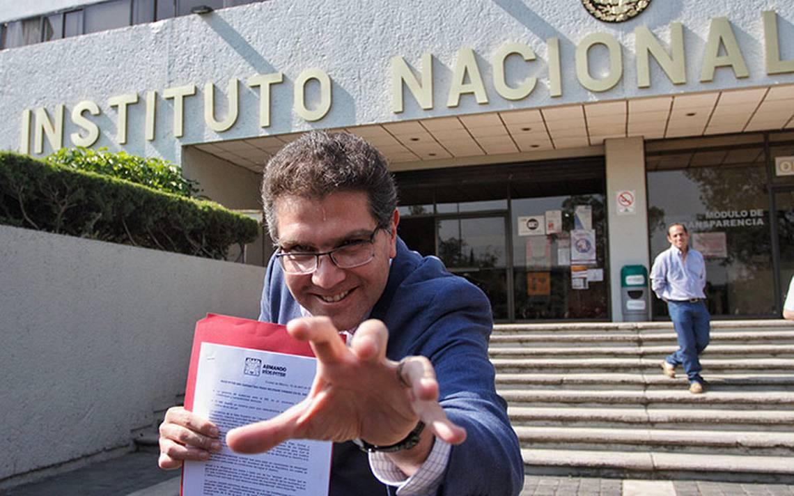 Ríos Piter acusa de nuevo al INE y le responden con notificación al Tribunal