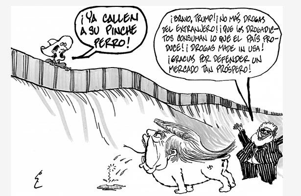 En la frontera