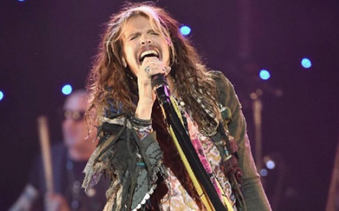 Aerosmith cancela show en México por problemas de salud de Steven Tyler