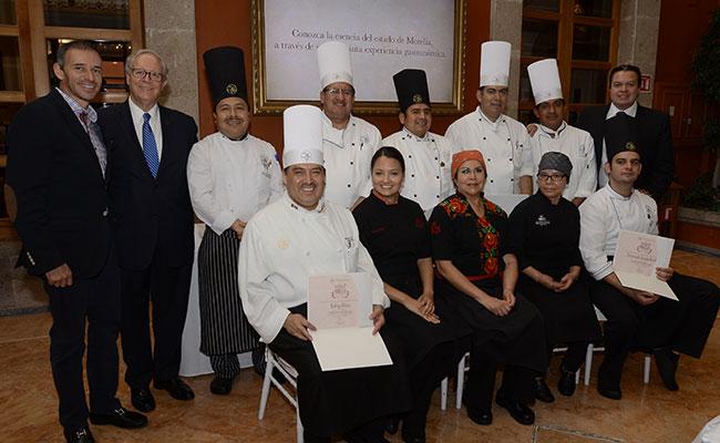 Presentan sabor y tradición  culinaria de Morelia
