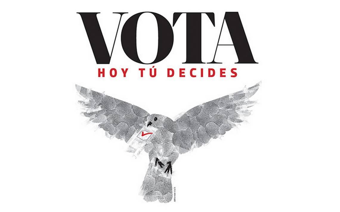 Vota, hoy tú decides