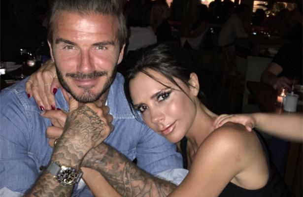 Con fotos, David y Victoria Beckham celebran su aniversario