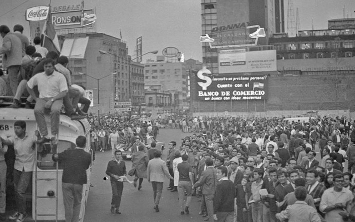Repercusiones del 68 en la apertura democrática de México