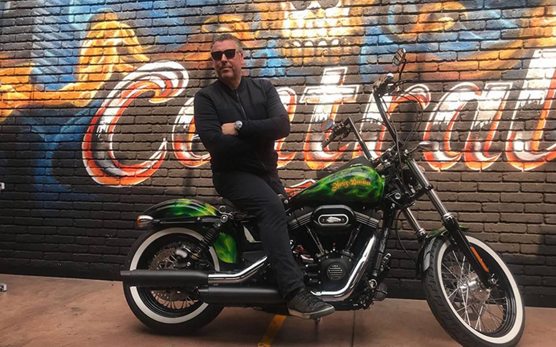 Rick de la Croix, en México para anunciar la alianza entre su firma de relojes y reconocida marca de motocicletas