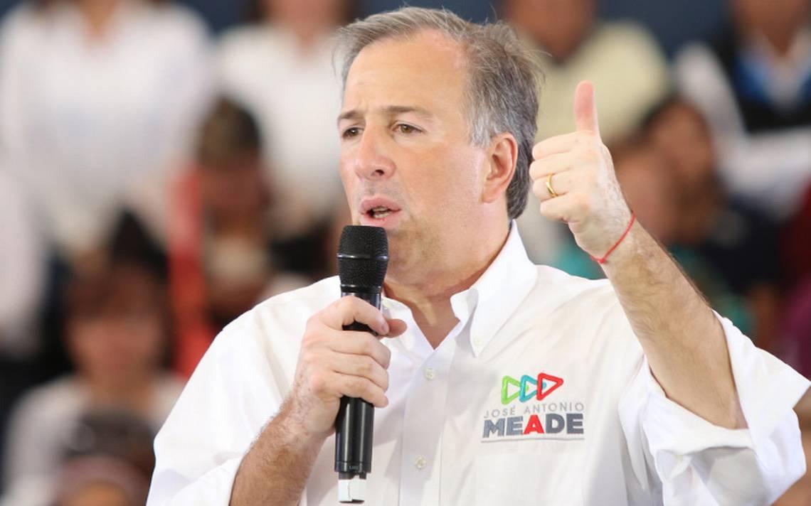PRI me elige como su candidato porque tengo un perfil limpio y preparado: Meade