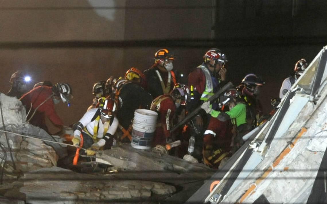 A 13 días del sismo, buscan a dos personas en escombros de Álvaro Obregón 286
