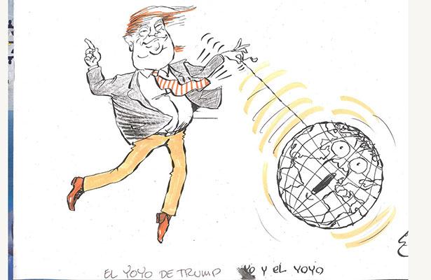 El yoyo de Trump