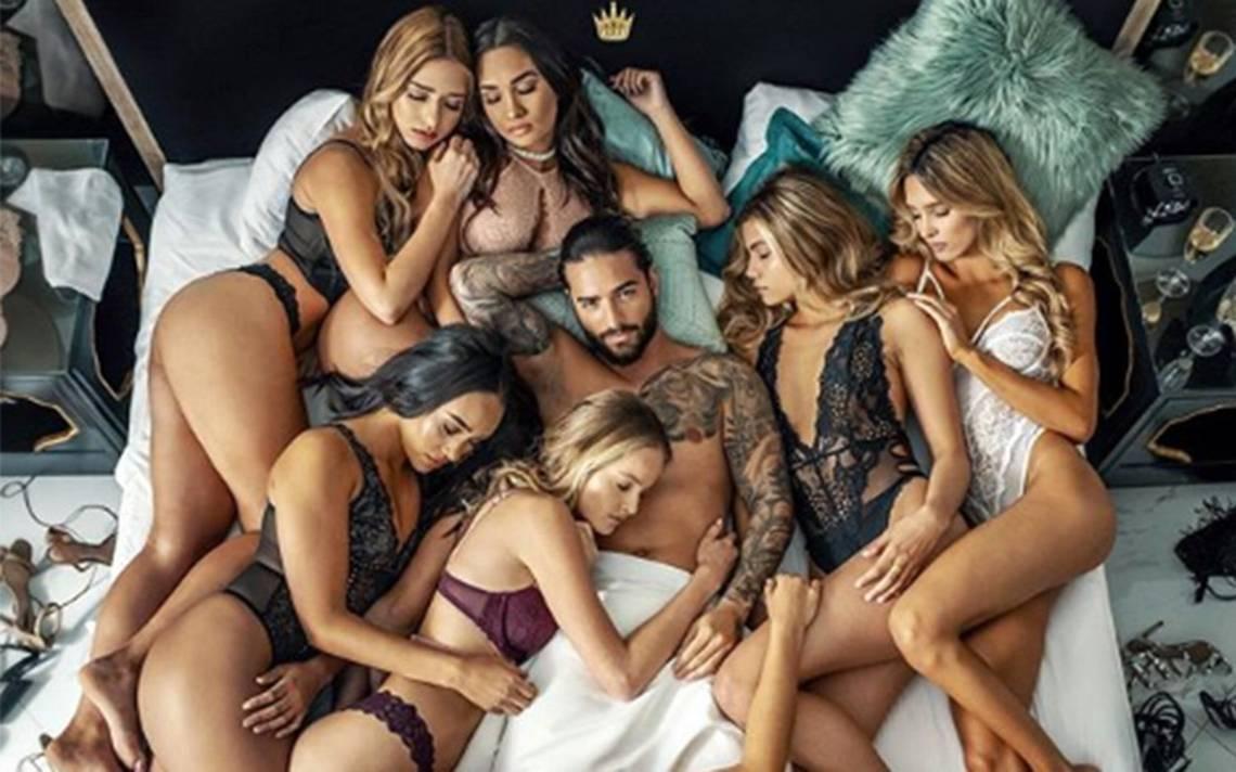 Rodeado de sexys mujeres, así luce Maluma en su polémico video Mala Mía