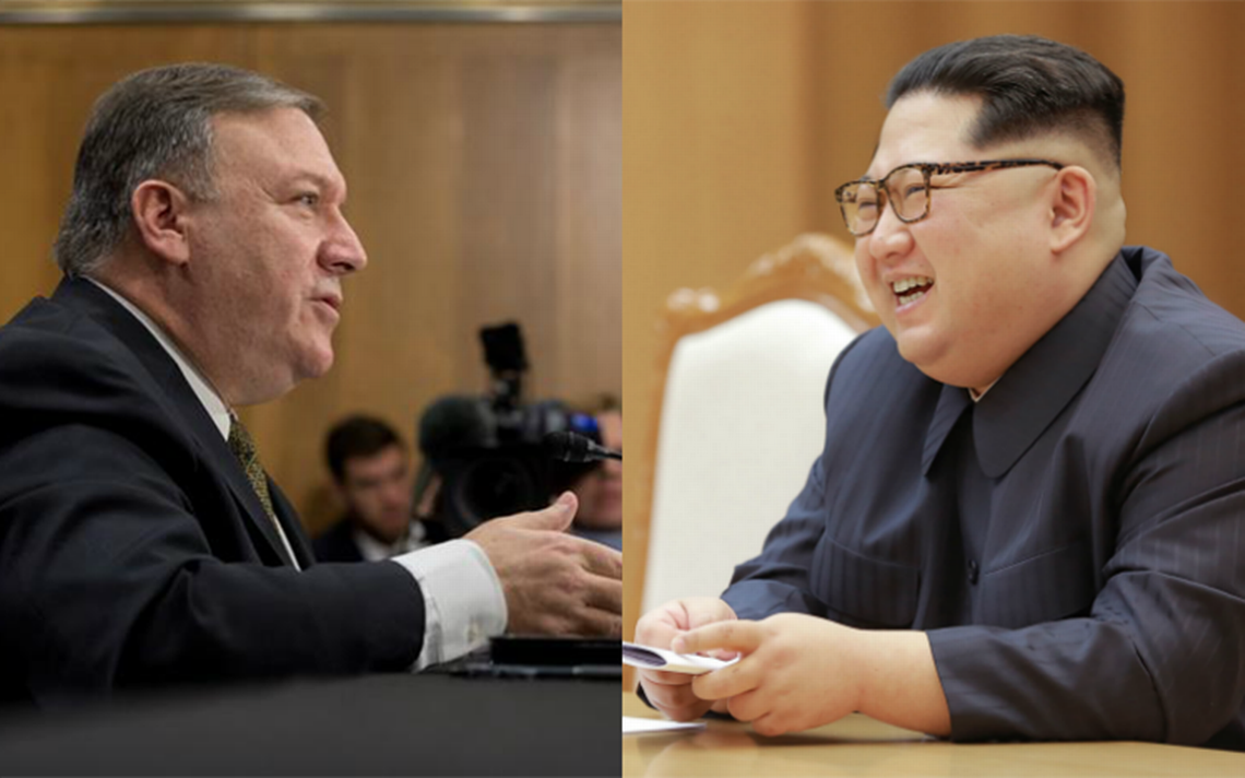 Director de la CIA se reunió en secreto con Kim Jong Un