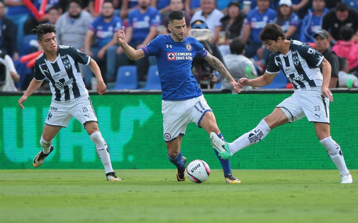 Cruz Azul y Monterrey conservan invicto, empatan en el Azul