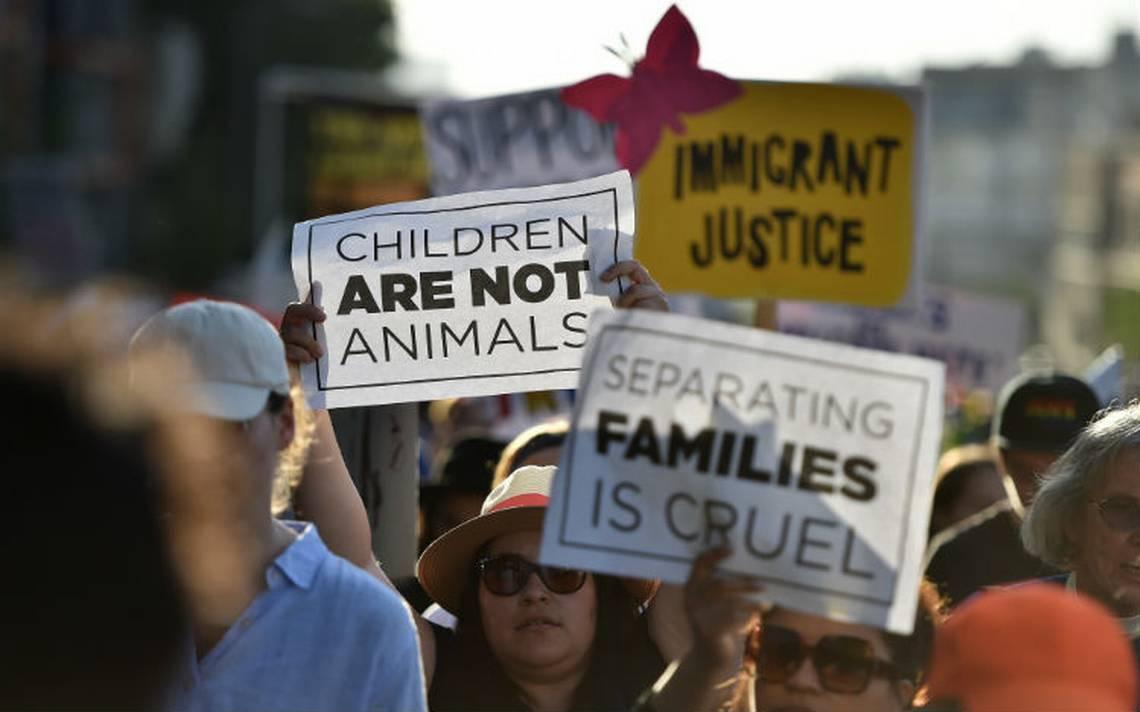 Casi dos mil niños fueron separados de sus familias en seis semanas en la frontera