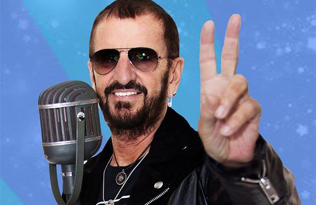 """Ringo Starr celebra su cumpleaños con """"Amor y Paz"""""""