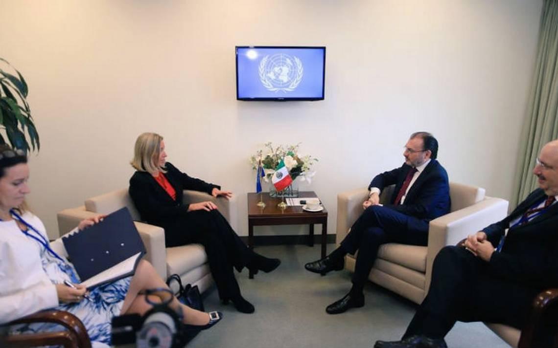 México refuerza relación bilateral con la Unión Europea