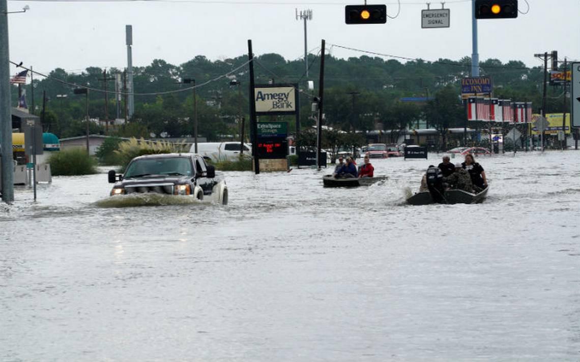 Trump declara emergencia en Louisiana tras fuertes lluvias por Harvey