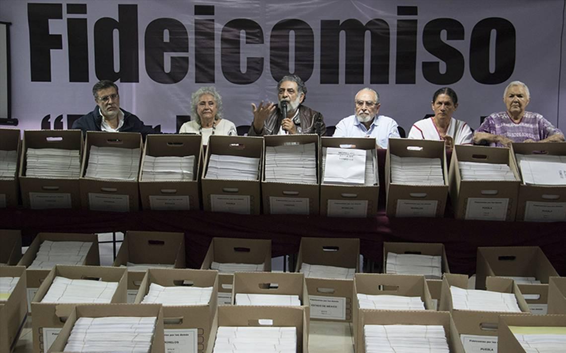 Tribunal Electoral discute si Morena violó la ley con fideicomiso para damnificados