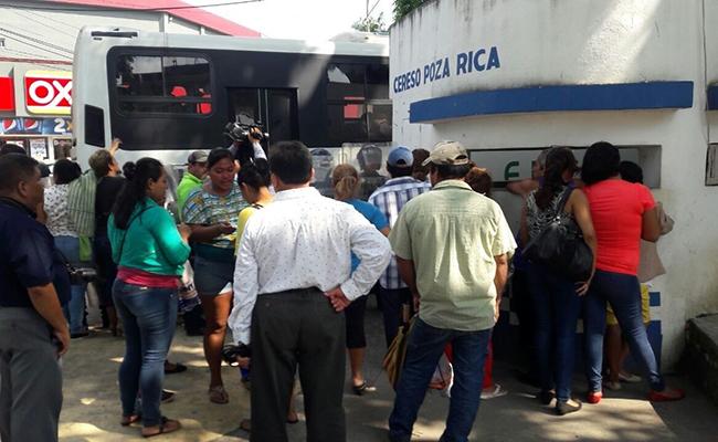 Ingresan a los 35 de los 37 detenidos en Poza Rica al reclusorio
