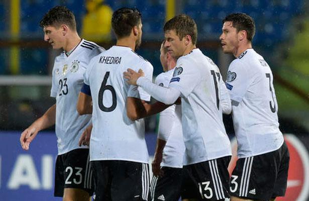 Alemania, Bélgica y Suiza con paso perfecto en eliminatorias