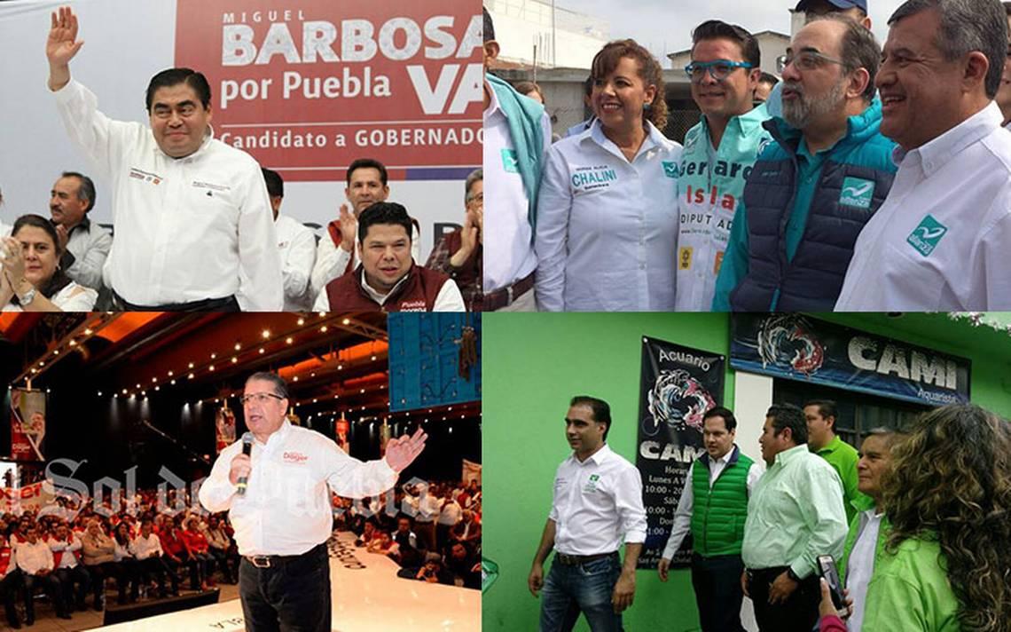 Con promesas al magisterio, asA� arrancan campaA�as por la gubernatura de Puebla
