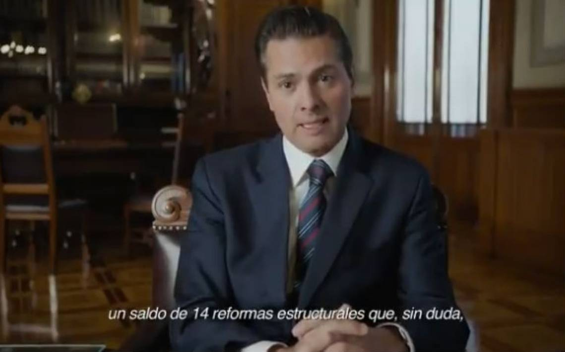 Peña Nieto recuerda en Twitter la conformación del Pacto por México