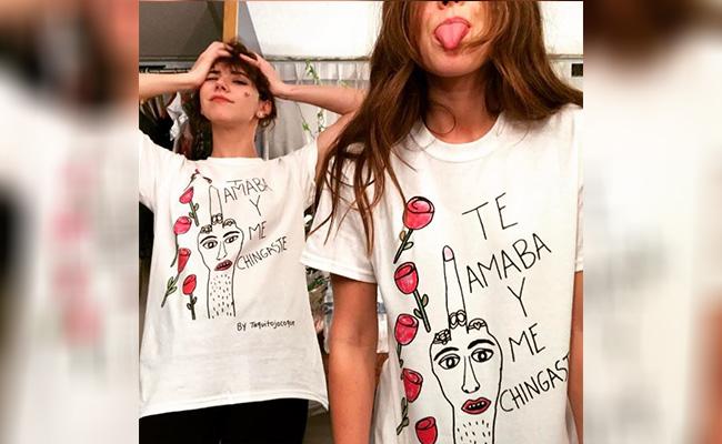 ¿A quién envía este mensaje Camila Sodi?