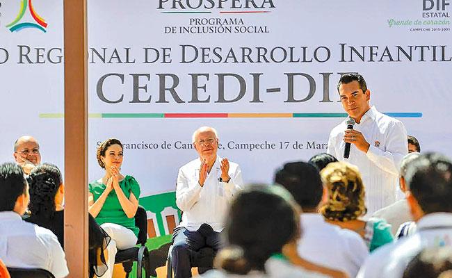 Inauguran Moreno Cárdenas y Narro Robles Ceredi de Campeche