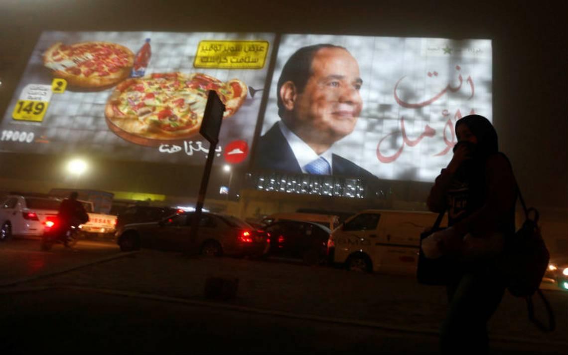 Al Sisi, reelegido como presidente de Egipto