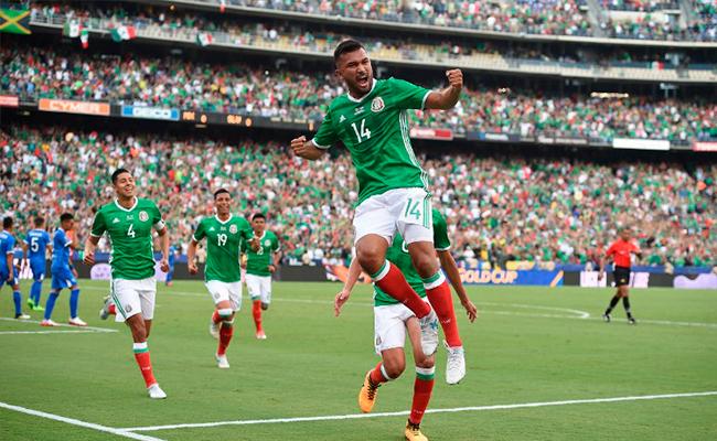 Copa Oro 2017 ? México se impone 3-1 sobre El Salvador