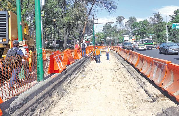 Inicia construcción de la Línea 7 del Metrobús
