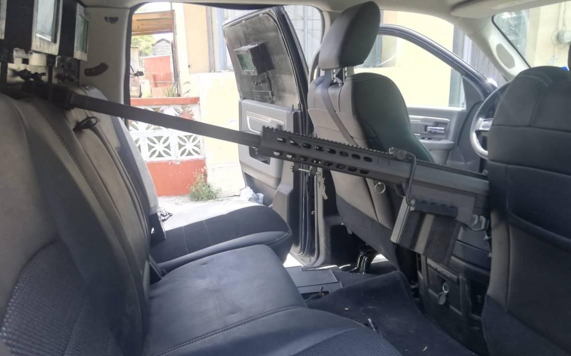 Militares aseguran arsenal en Tamaulipas; había un poderoso fusil Barret calibre .50