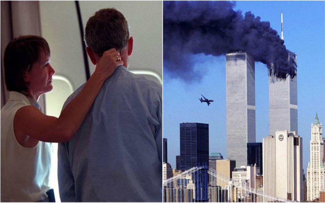 La increíble reacción de Bush por el atentado a las Torres Gemelas el 11-S