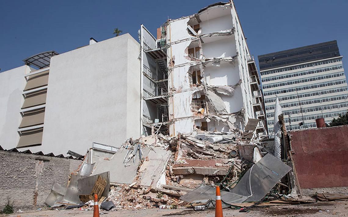 Detienen al director de obra del edificio de Zapata 56 colapsado en sismo