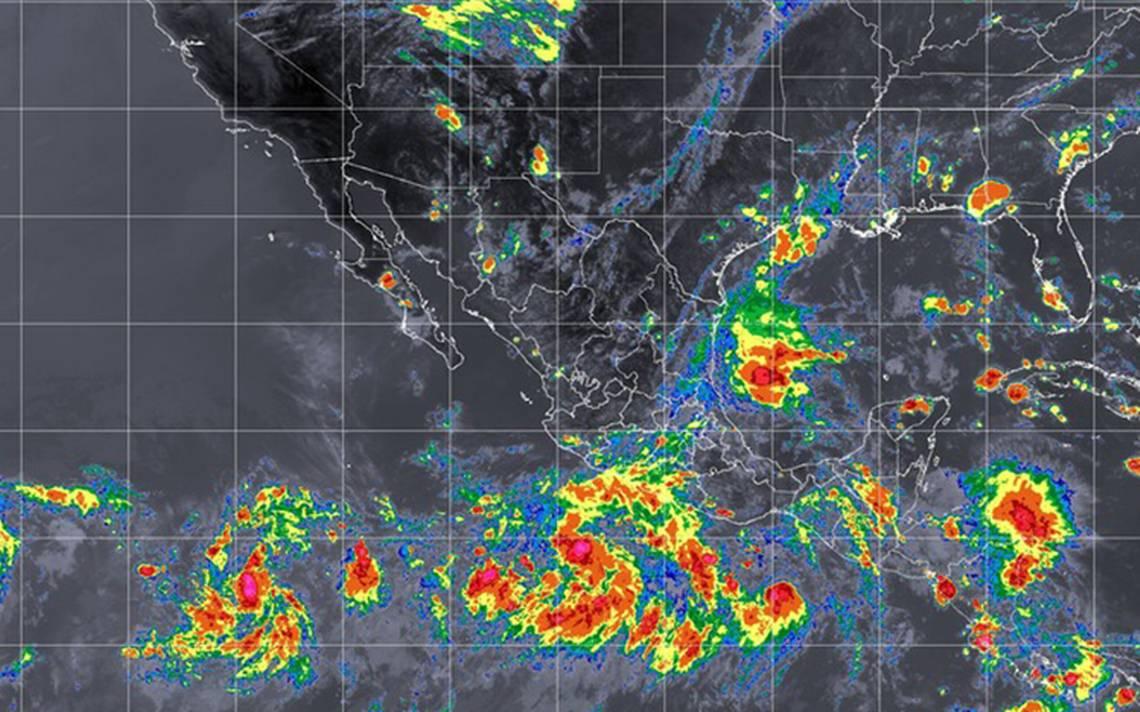 Depresión tropical Once-E se forma frente a costas de Oaxaca