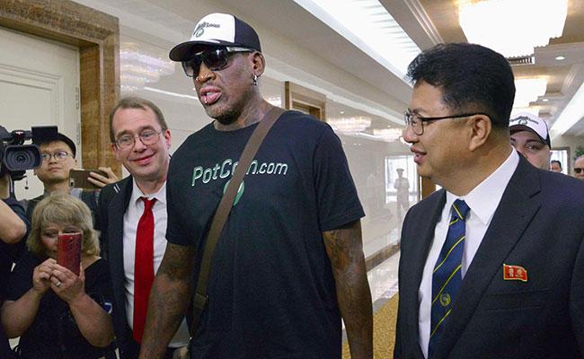 Dennis Rodman, ¿el mediador entre EU y Corea del Norte?