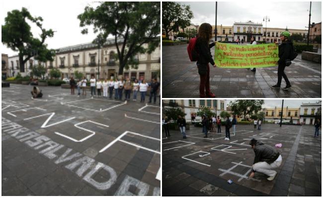 Periodistas exigen que se esclarezca homicidio de Salvador Adame