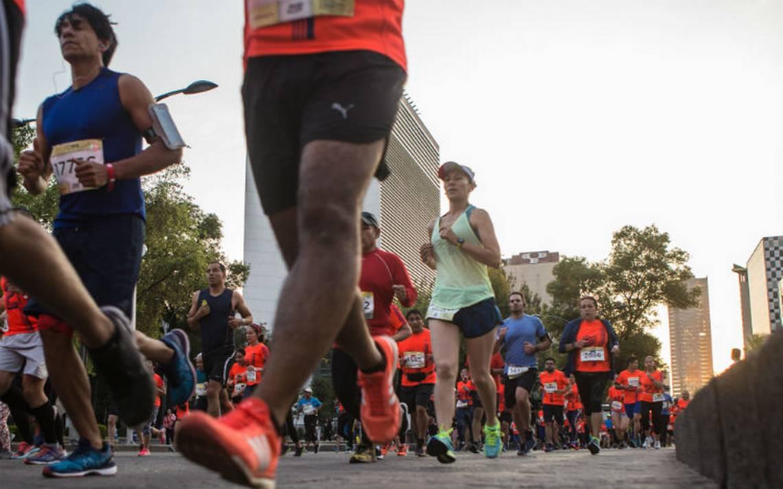 Fallecen dos hombres durante Medio Maratón de la CDMX