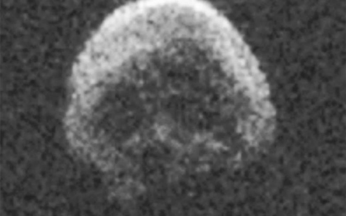 Asteroide con forma de cráneo humano regresa en 2018 y pasará cerca de la Tierra