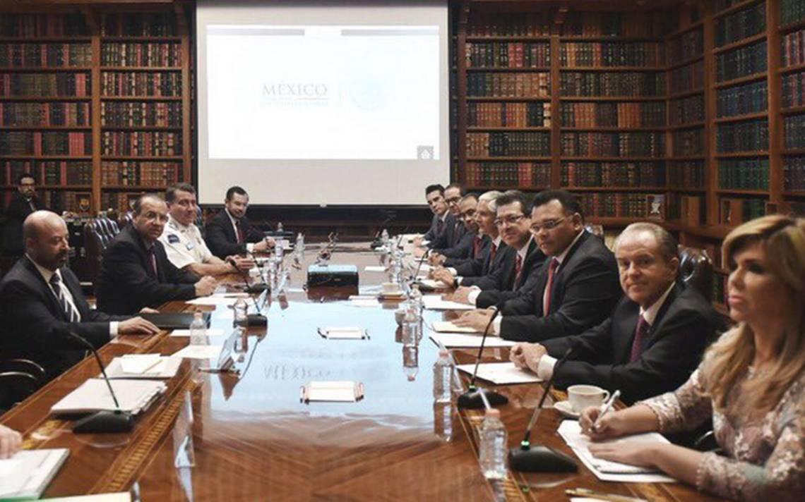 Navarrete Prida se reúne con gobernadores del PRI para abordar temas de seguridad