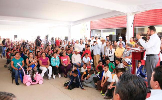 Zacatecas no escatimara recursos para los pobres