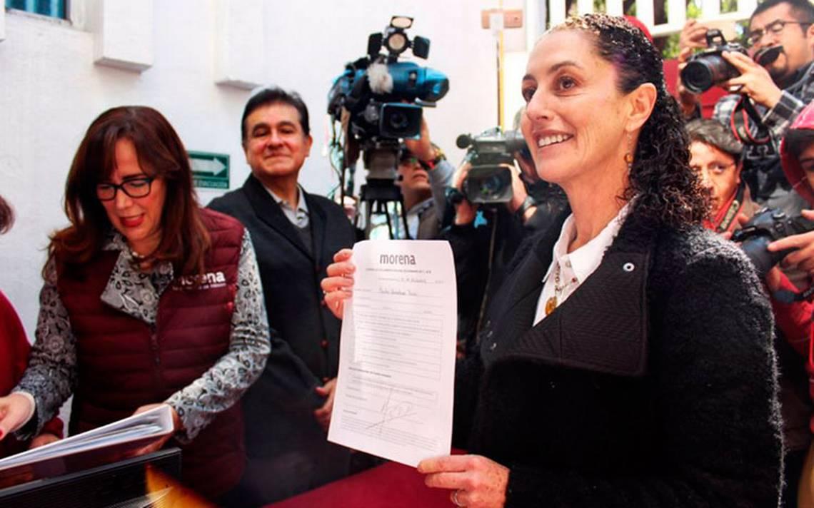 Sheinbaum ya es precandidata de Morena a Jefatura de Gobierno de la CDMX