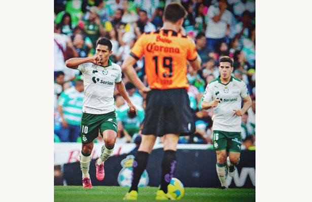 Santos pudo ser tercero, pro los rayos le empataron
